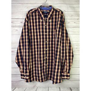 Chaps Easy Care 4XB Button Front Shirt